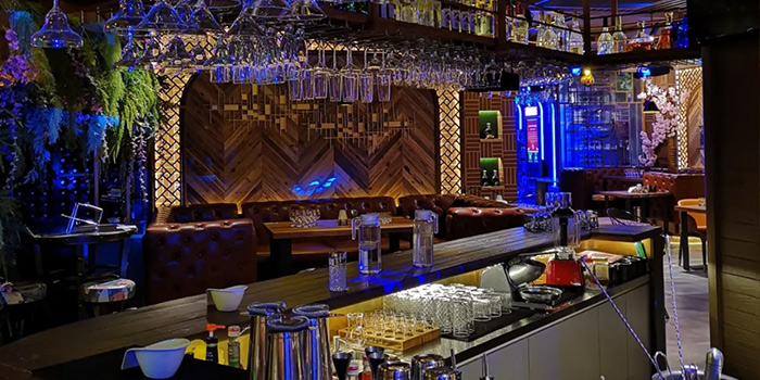 Bar of LC Live House located in Minhang, Shanghai