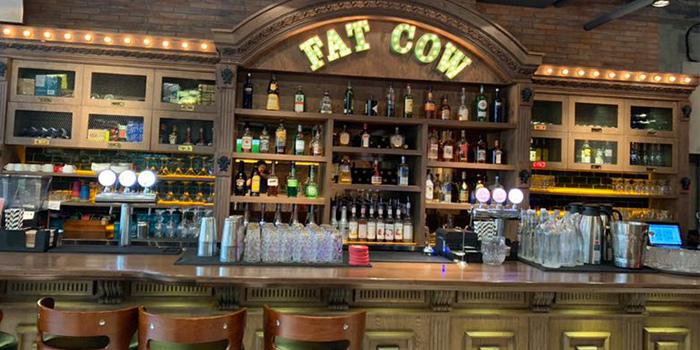 Indoor of Indoor of Fat Cow (Lujiazui) located in Pudong, Shanghai