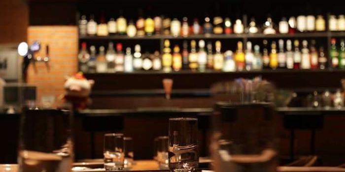 Bar of M-Cross Restaurant & Bar locate in Lujiazui, Shanghai