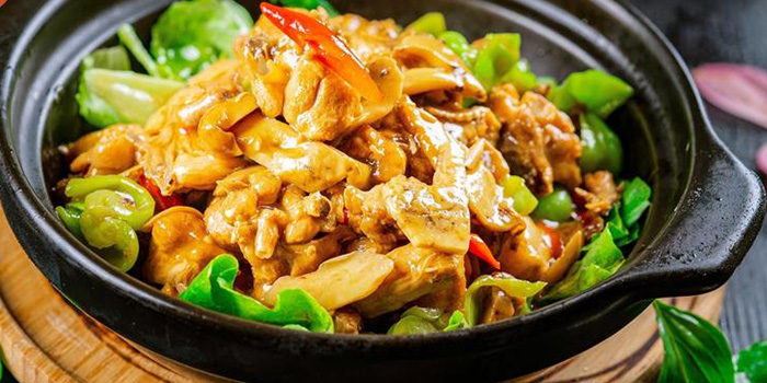 Braised Chicken of Shang Yue located in Xuhui, Shanghai