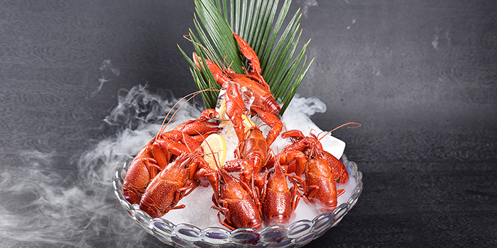 Crayfish of LC Live House located in Minhang, Shanghai