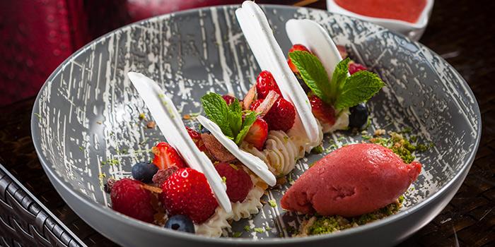 Dessert of CHAR Bar and Grill located in Hotel Indigo on The bund