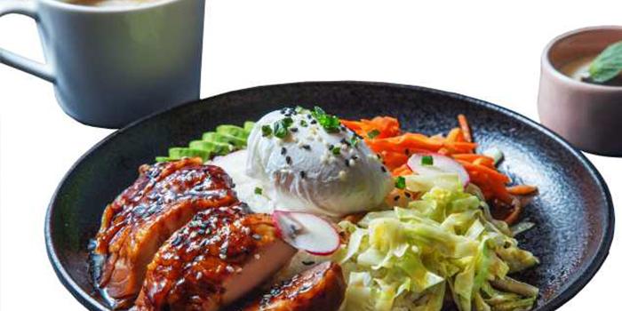 Food of M-Cross Restaurant & Bar locate in Lujiazui, Shanghai