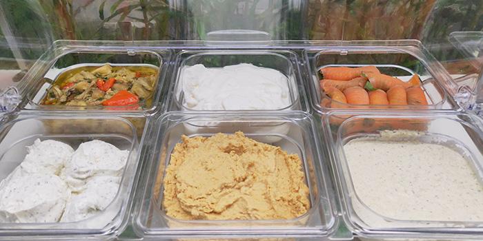 Hummus of Pasha Turkish Restaurant in Huangpu, Shanghai