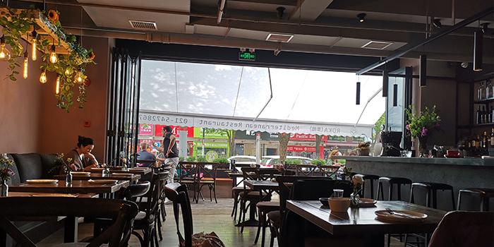Indoor of ROKA located in Minhang, Shanghai