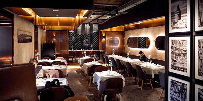 indoor of Pasha Turkish Restaurant in Huangpu, Shanghai