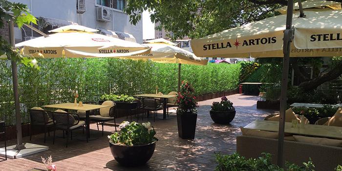 Outdoor of Pasha Turkish Restaurant in Huangpu, Shanghai