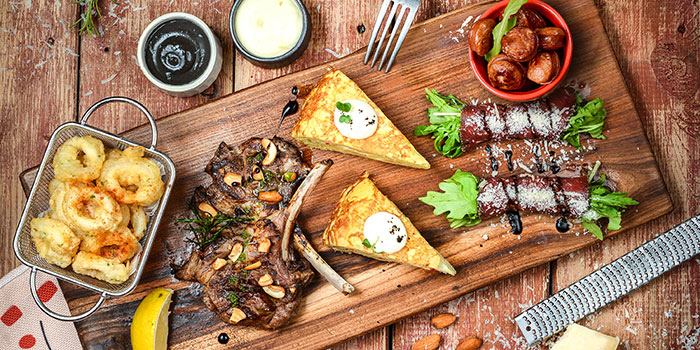 Platter of Brownstone Tapas & Bar (96 Plaza) located in Pudong, Shanghai