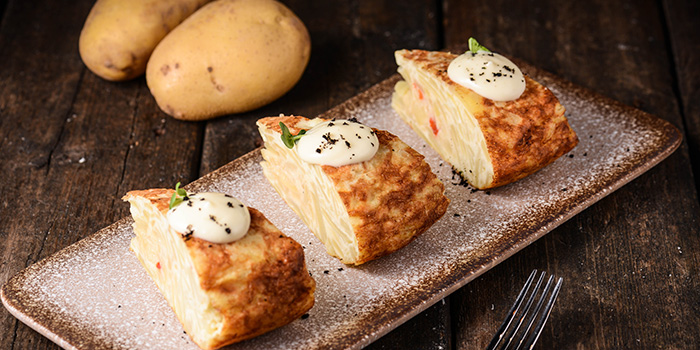 Potato Cake of Brownstone Tapas & Bar (96 Plaza) located in Pudong, Shanghai