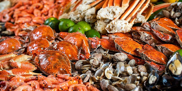 Seafood of Savor All Day Dining Restaurant (Pullman Hotel Shanghai South) located in Xujiahui, Shanghai