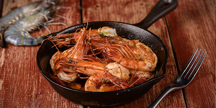 Shrimp of Brownstone Tapas & Bar (96 Plaza) located in Pudong, Shanghai