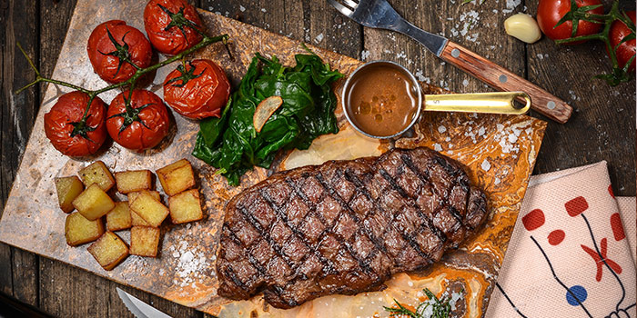 Steak of Brownstone Tapas & Bar (96 Plaza) located in Pudong, Shanghai
