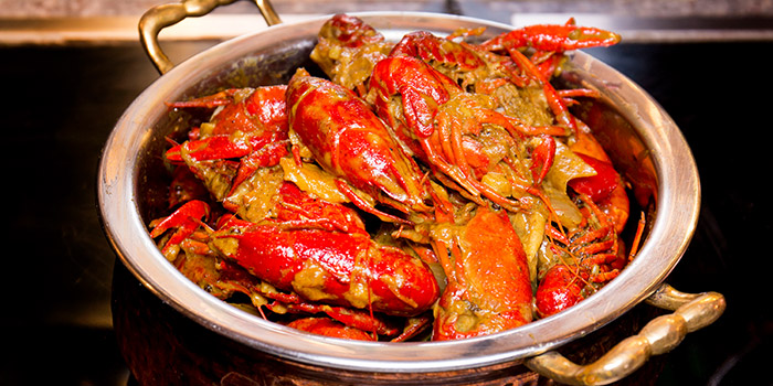 Curry Crayfish from Elements in Grand Kempinski Hotel Shanghai, Pudong, Shanghai