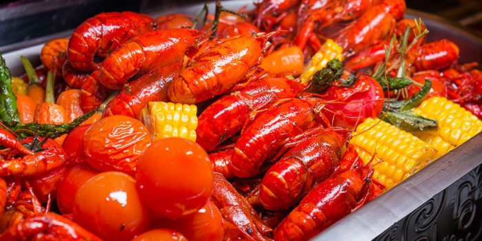 Grilled Crayfish from Elements in Grand Kempinski Hotel Shanghai, Pudong, Shanghai