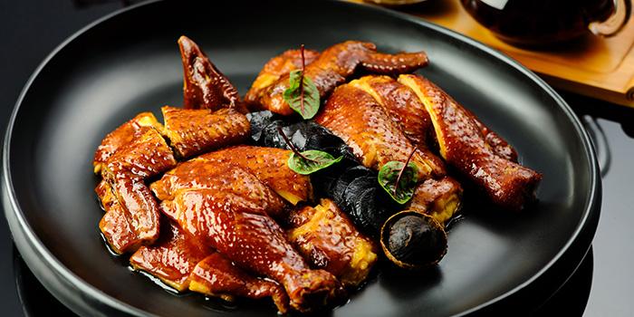 Chicken from Suntime Century Chinese Restaurant in Grand Kempinski Hotel Shanghai, Pudong, Shanghai