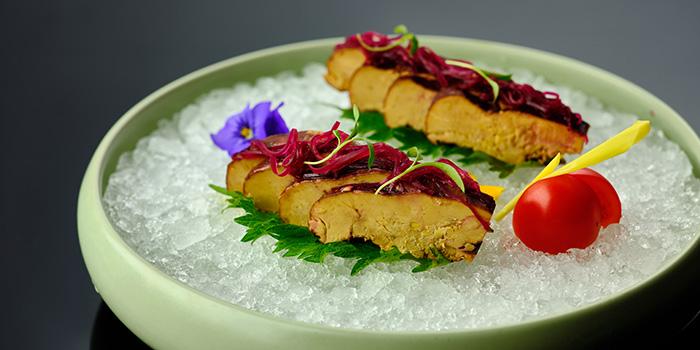 Foie Gras from Suntime Century Chinese Restaurant in Grand Kempinski Hotel Shanghai, Pudong, Shanghai