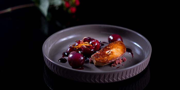 Foie Gras with Cherry from Albero Spanish Restaurant in Grand Kempinski Hotel Shanghai, Pudong, Shanghai