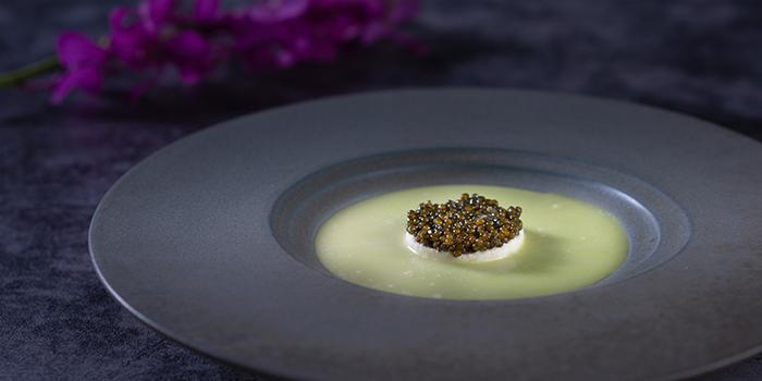 Green Pea Soup from Acqua in Grand Kempinski Hotel Shanghai, Pudong, Shanghai
