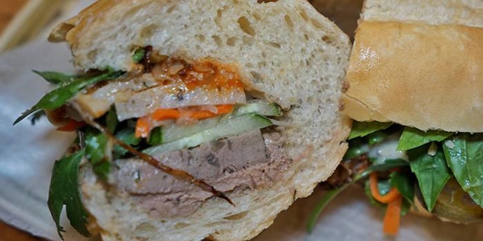 Sandwich of BUN Cha Cha located in Huangpu, Shanghai