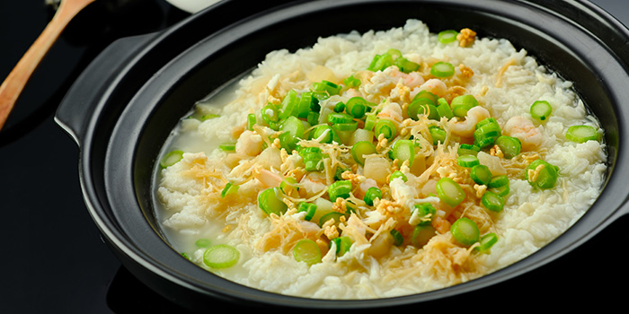 Seafood Rice from Suntime Century Chinese Restaurant in Grand Kempinski Hotel Shanghai, Pudong, Shanghai