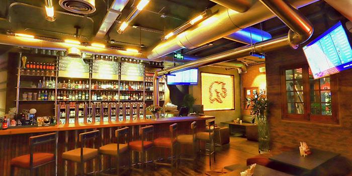 Bar of Boxing Cat Brewery (Sinan Mansions) in Huangpu, Shanghai
