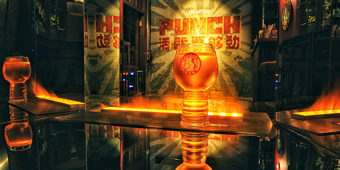 Beer of  Boxing Cat Brewery (Sinan Mansions) in Huangpu, Shanghai
