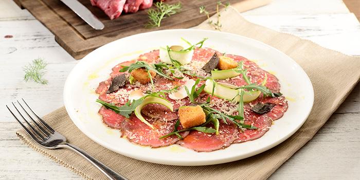 Beef Carparcio from Kathleen