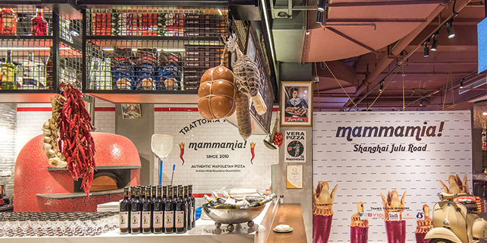 Indoor of Mammamia Pizzeria (Julu Lu) located In Jing