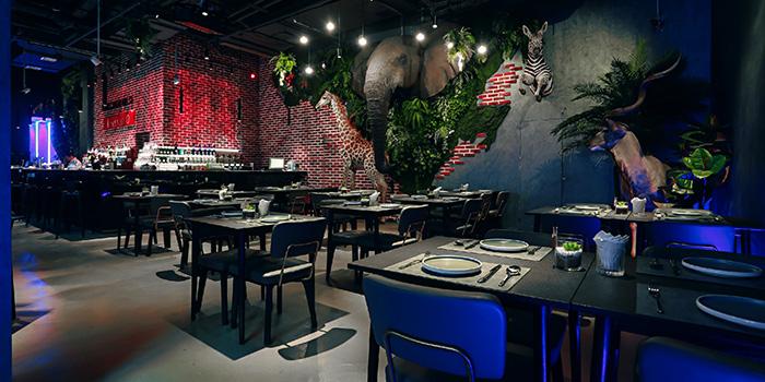 Indoor of Kervan located in Huangpu, Shanghai