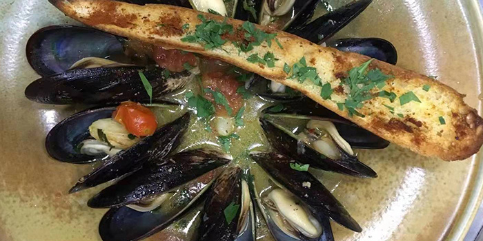 Mussels of MOLO9 + Italian bistro located in Minhang, Shanghai