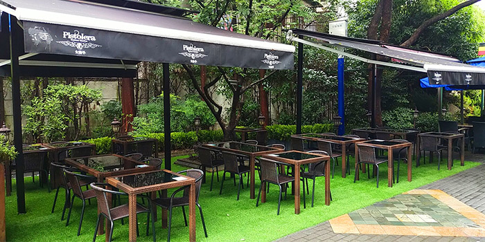 Outdoor of Pistolera Mexican Cantina (Laowai Jie) located in Minhang, Shanghai