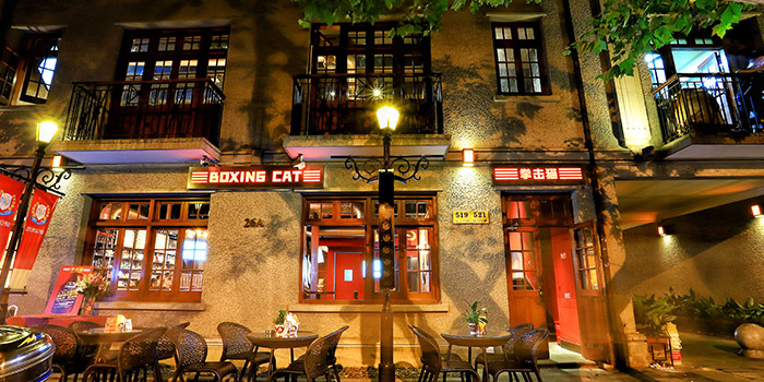 Outdoor of  Boxing Cat Brewery (Sinan Mansions) in Huangpu, Shanghai