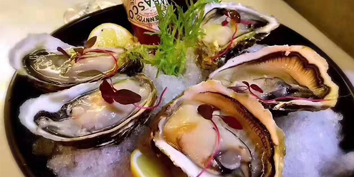 Oyster of MOLO9 + Italian bistro located in Minhang, Shanghai