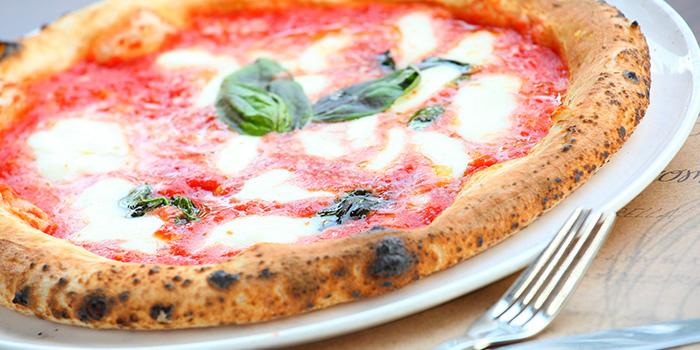 Pizza of Mammamia Pizzeria (Julu Lu) located In Jing