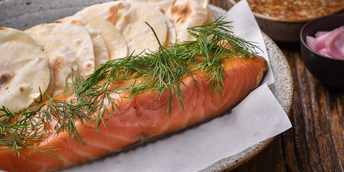 Salmon of BOR Eatery by Kasper Pedersen located in Xuhui, Shanghai
