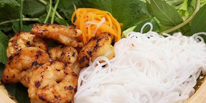Shrimp of BUN Cha Cha located in Huangpu, Shanghai