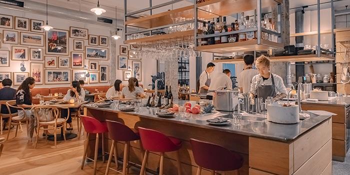 Kitchen of BOR Eatery by Kasper Pedersen located in Xuhui, Shanghai