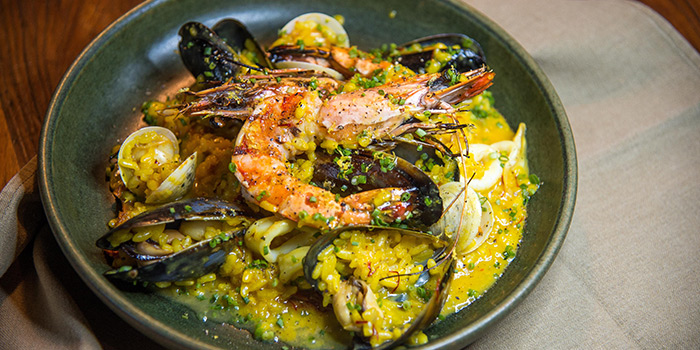 Seafood Paella from Mr Willis located in Xuhui District, Shanghai