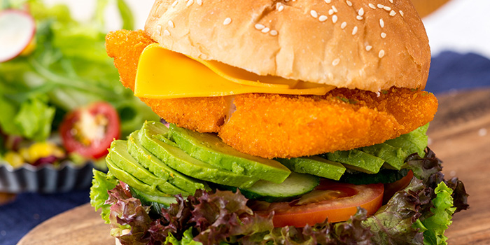 Fish Burger of delimuses (Changping Lu) located in Jing
