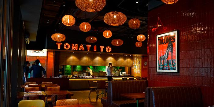 Indoor of TOMATITO located in Huangpu, Shanghai