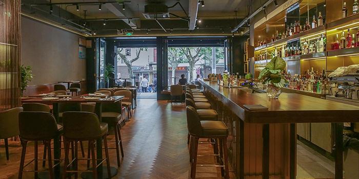 Indoor of EPICUREAN restaurant & bar located in Jing