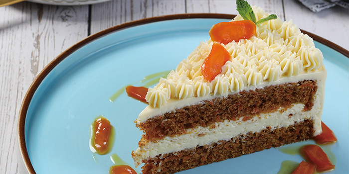 Carrot Cake of The Blind Pig Bourbon and Smokehouse located in Jing