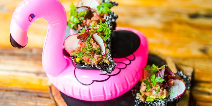 Tuna Tartar of Cuivre by Michael Wendling