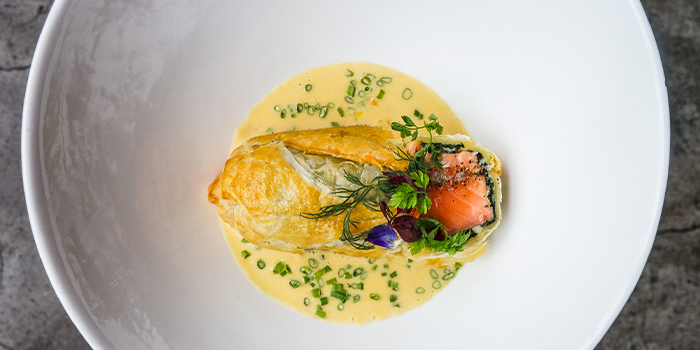 Salmon Confit of Cuivre by Michael Wendling