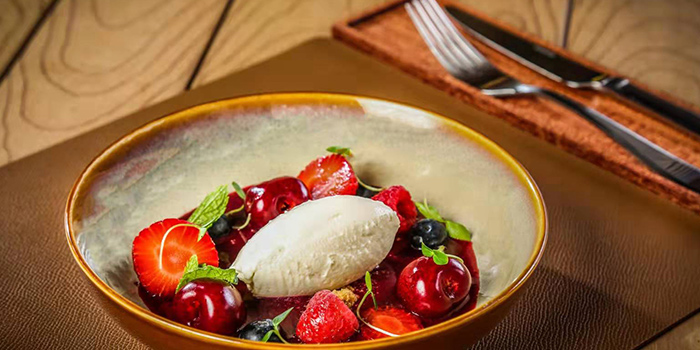 Dessert of of Senso Casual Italian Dining located in Changning, Shanghai