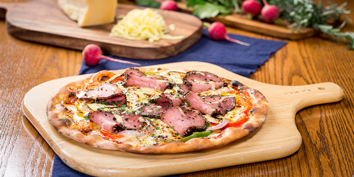 Pizza of delimuses (Changping Lu) located in Jing