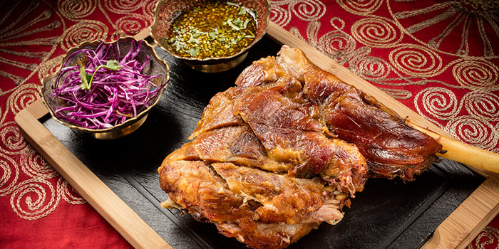 Rost Lamb Leg from Lost Heaven (Silk Road) located at Jing