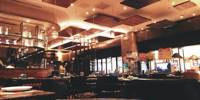 Indoor of Pizza of Alla Torre (Global Harbor Shopping Mall) in Global Harbor Shopping Mall, Putuo, Shanghai