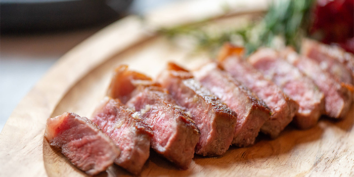 Steak of of BESPOKE Modern Bar & Grill (The St. Regis Shanghai Jing