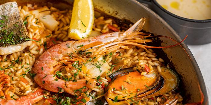 Seafood Paella of BESPOKE Modern Bar & Grill (The St. Regis Shanghai Jing